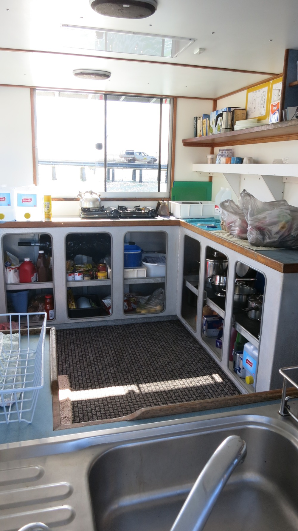 Galley With Plenty Of Space